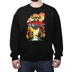 Attack on Aku - Crew Neck - Crew Neck - RIPT Apparel