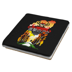Attack on Aku - Coasters - Coasters - RIPT Apparel
