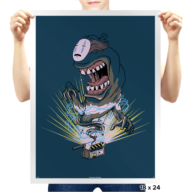 I Ain't Afraid of No-Face! - Prints - Posters - RIPT Apparel