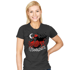 Exsanguinate - Womens - T-Shirts - RIPT Apparel