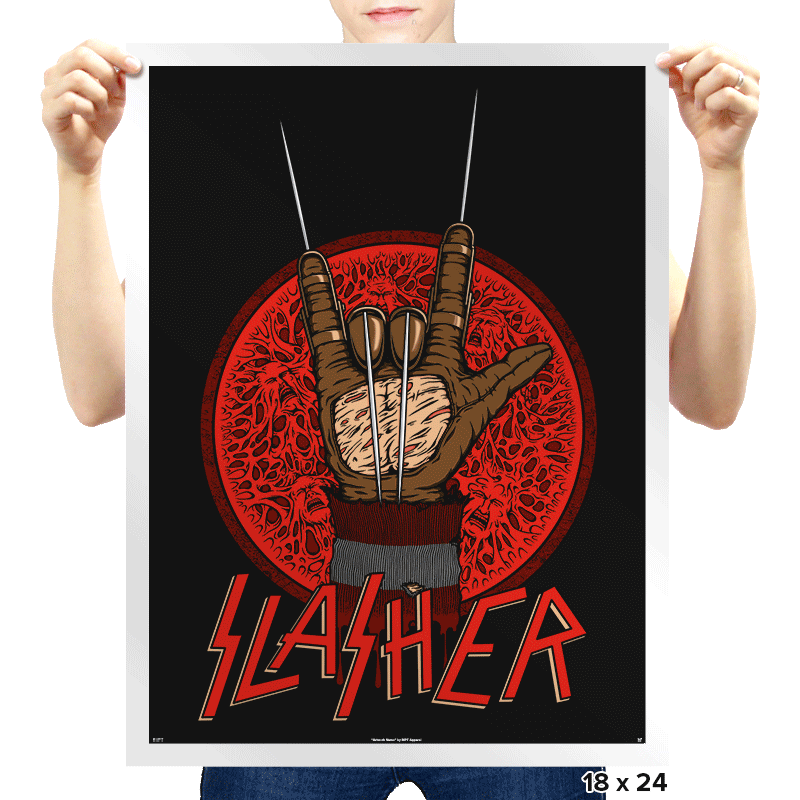 Slasher - Prints - Posters - RIPT Apparel