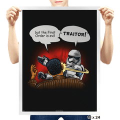 Traitor - Prints - Posters - RIPT Apparel