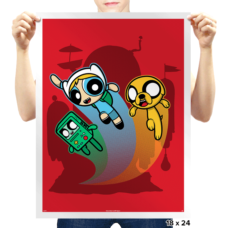 Adventure-Puff Boys - Uprising - Prints - Posters - RIPT Apparel
