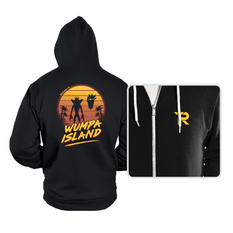 Welcome to Wumpa Island - Hoodies - Hoodies - RIPT Apparel