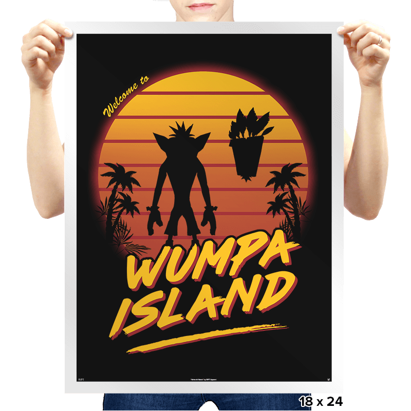 Welcome to Wumpa Island - Prints - Posters - RIPT Apparel