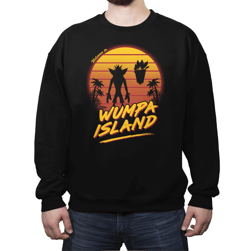 Welcome to Wumpa Island - Crew Neck - Crew Neck - RIPT Apparel