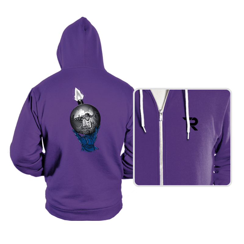 Batsy Escher - Hoodies - Hoodies - RIPT Apparel