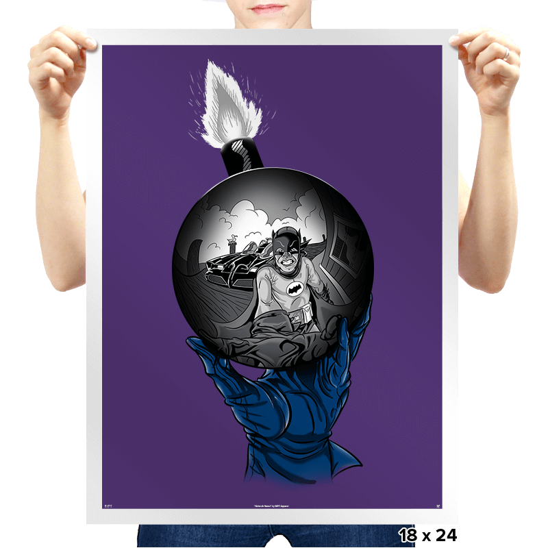Batsy Escher - Prints - Posters - RIPT Apparel