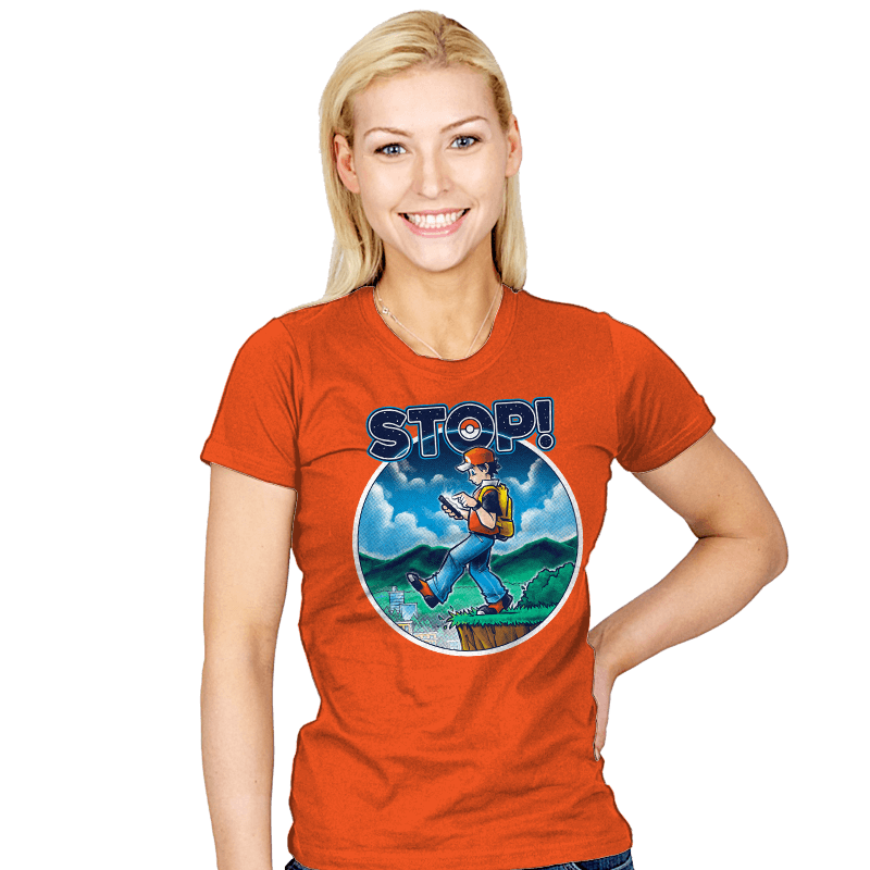 Pokestop! - Womens - T-Shirts - RIPT Apparel