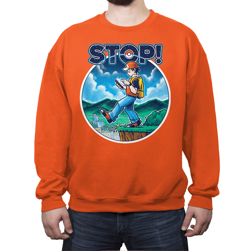 Pokestop! - Crew Neck - Crew Neck - RIPT Apparel