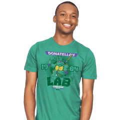 Donatello's Lab - Mens - T-Shirts - RIPT Apparel