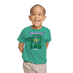 Donatello's Lab - Youth - T-Shirts - RIPT Apparel