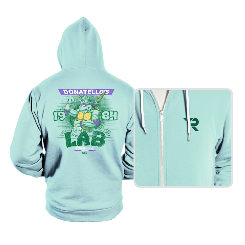 Donatello's Lab - Hoodies - Hoodies - RIPT Apparel