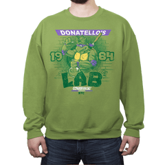 Donatello's Lab - Crew Neck - Crew Neck - RIPT Apparel