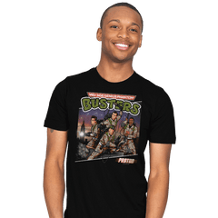 Mid-Age Genius Phantom Busters - Mens - T-Shirts - RIPT Apparel