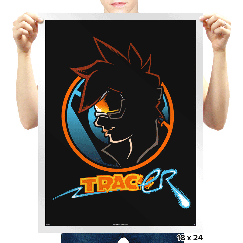 Detective Tracer Exclusive - Prints - Posters - RIPT Apparel