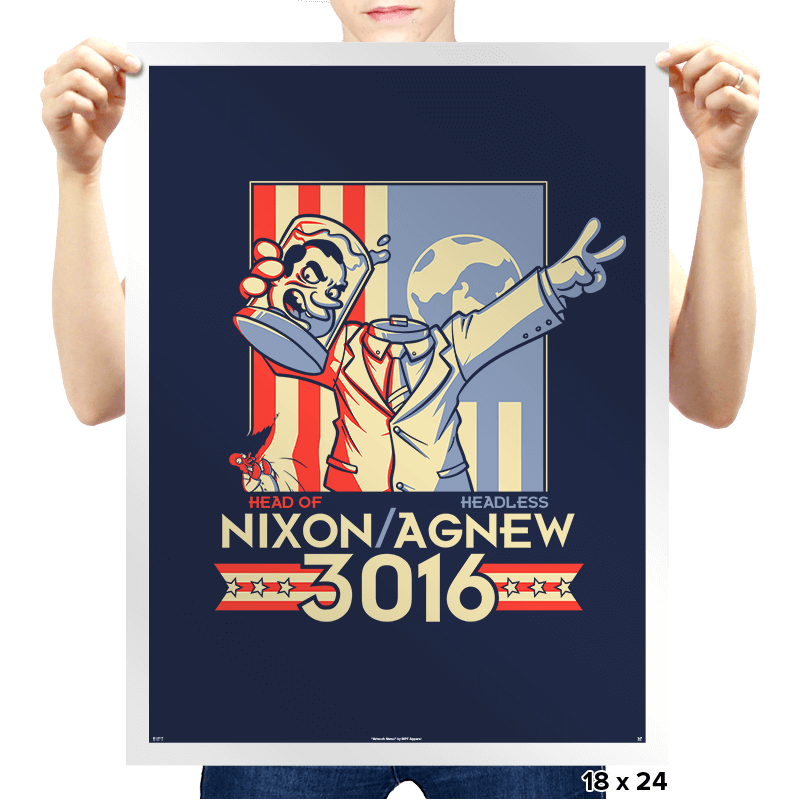 Nixon : Agnew 3016 Exclusive - Prints - Posters - RIPT Apparel