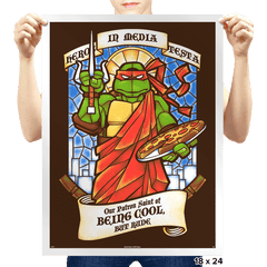 Our Saint of Cool But Rude Exclusive - Prints - Posters - RIPT Apparel