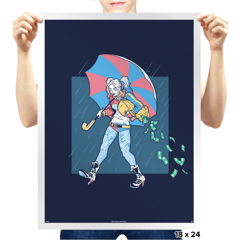 Salty Squad Girl Exclusive - Prints - Posters - RIPT Apparel