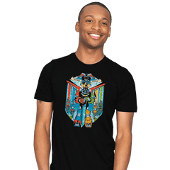 Stained Glass Defender Exclusive - Mens - T-Shirts - RIPT Apparel