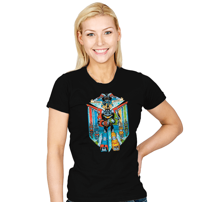 Stained Glass Defender Exclusive - Womens - T-Shirts - RIPT Apparel