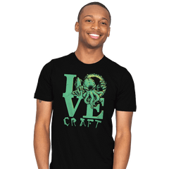 Cthulove Exclusive - Mens - T-Shirts - RIPT Apparel