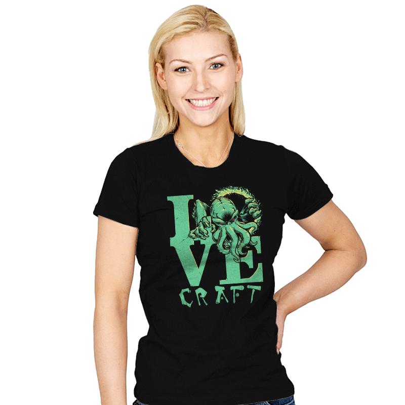 Cthulove Exclusive - Womens - T-Shirts - RIPT Apparel