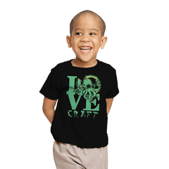 Cthulove Exclusive - Youth - T-Shirts - RIPT Apparel