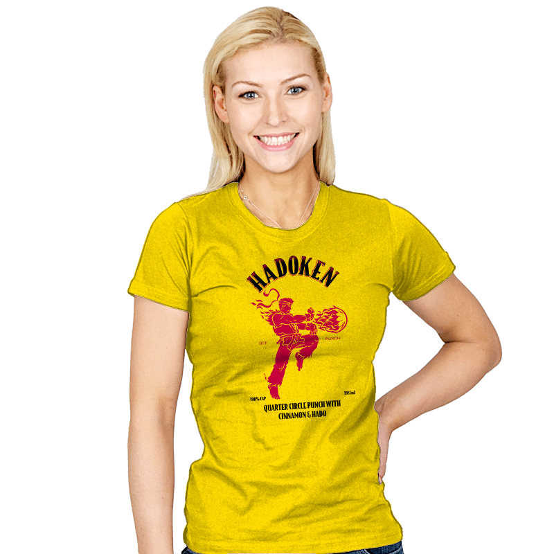 Hadoken Whiskey - Womens - T-Shirts - RIPT Apparel
