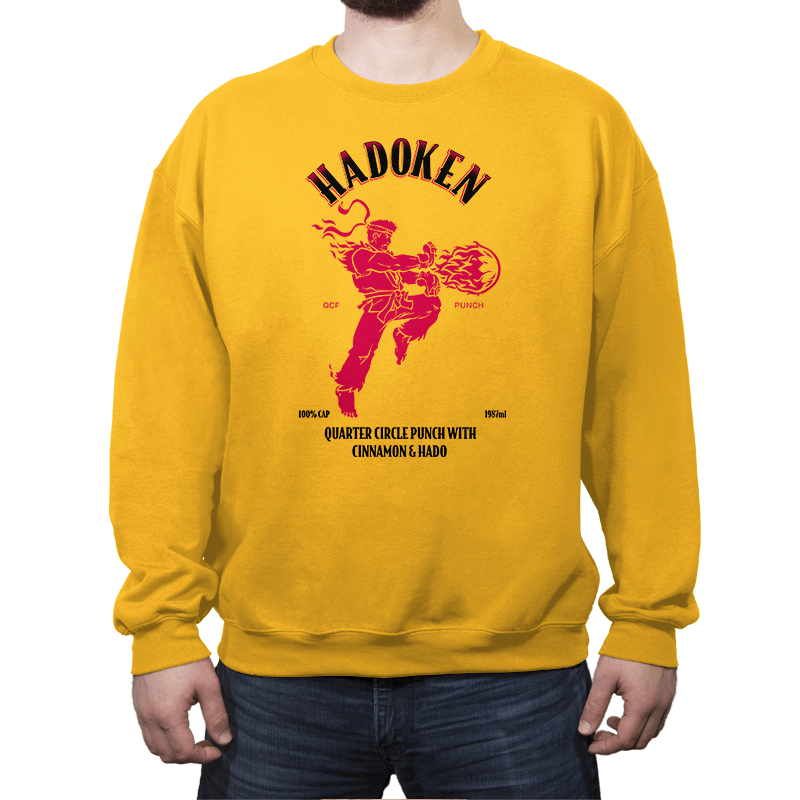 Hadoken Whiskey - Crew Neck - Crew Neck - RIPT Apparel