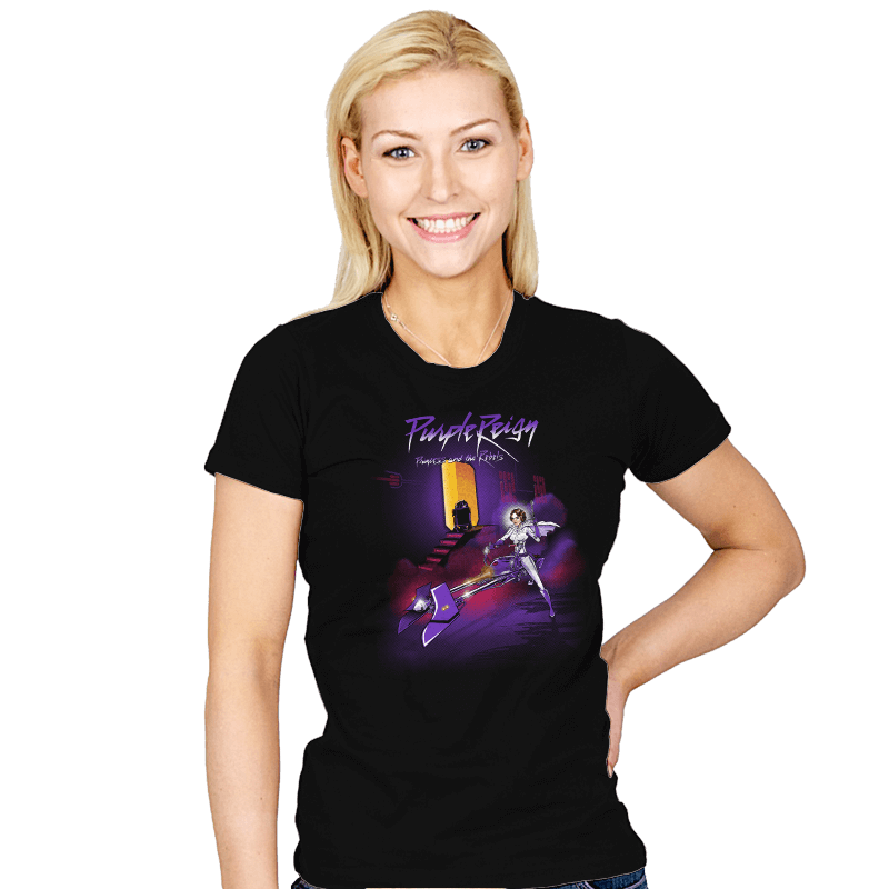 Purple Reign - Womens - T-Shirts - RIPT Apparel