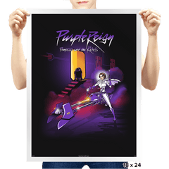 Purple Reign - Prints - Posters - RIPT Apparel