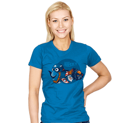 Finding Bucky - Womens - T-Shirts - RIPT Apparel