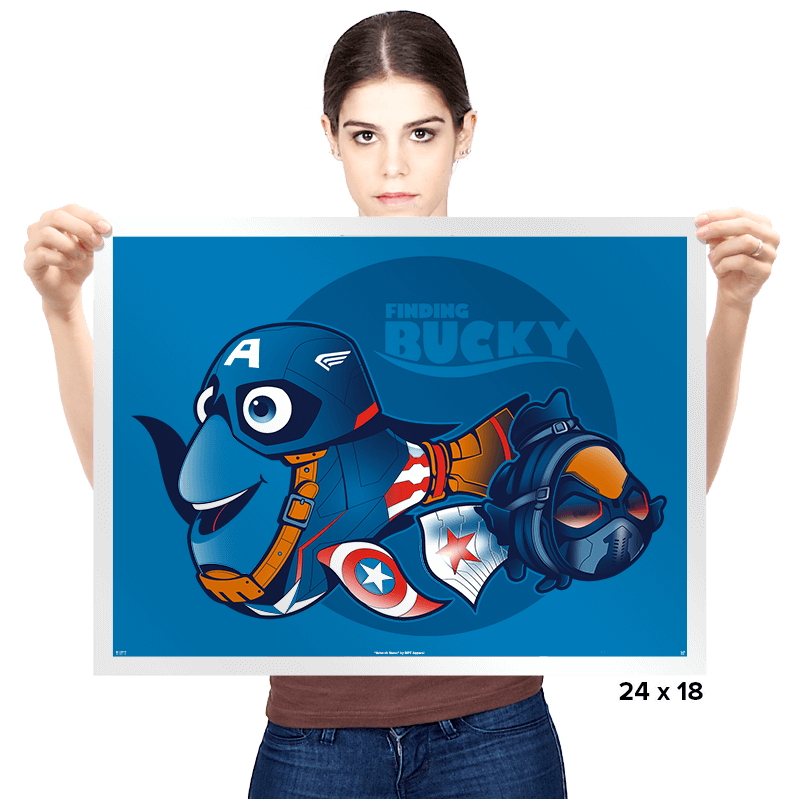 Finding Bucky - Prints - Posters - RIPT Apparel