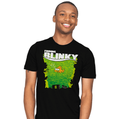Finding Blinky - Mens - T-Shirts - RIPT Apparel