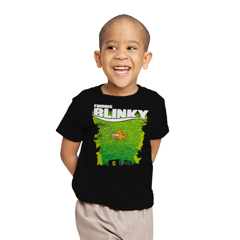 Finding Blinky - Youth - T-Shirts - RIPT Apparel