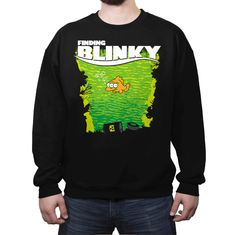 Finding Blinky - Crew Neck - Crew Neck - RIPT Apparel
