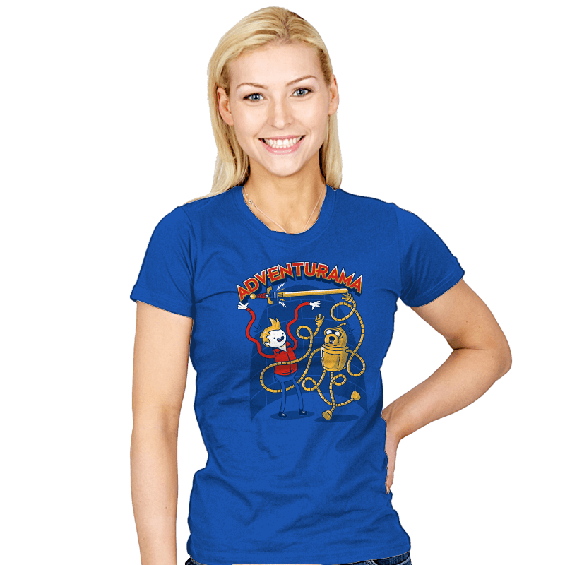 Adventurama Reprint - Womens - T-Shirts - RIPT Apparel