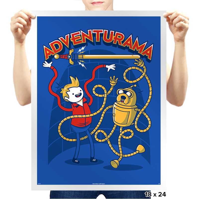 Adventurama Reprint - Prints - Posters - RIPT Apparel