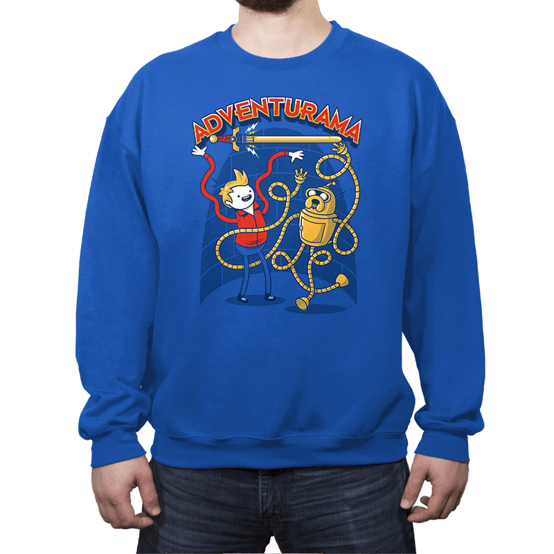 Adventurama Reprint - Crew Neck - Crew Neck - RIPT Apparel