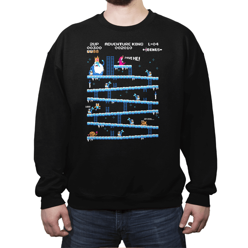 Adventure Kong Reprint - Crew Neck - Crew Neck - RIPT Apparel