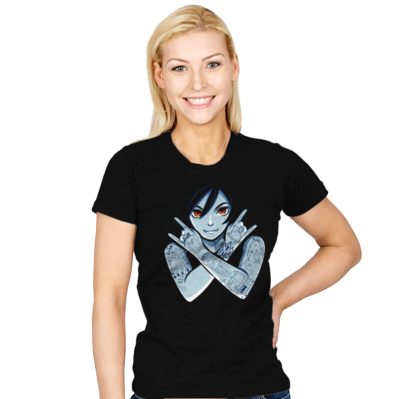 Vampire Queen - Womens - T-Shirts - RIPT Apparel
