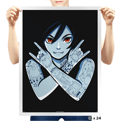 Vampire Queen - Prints - Posters - RIPT Apparel