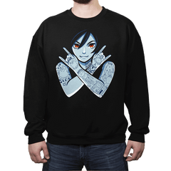 Vampire Queen - Crew Neck - Crew Neck - RIPT Apparel