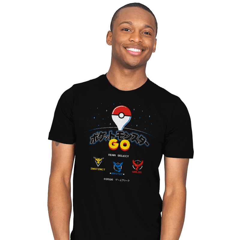 Retro GO - Mens - T-Shirts - RIPT Apparel