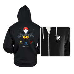 Retro GO - Hoodies - Hoodies - RIPT Apparel