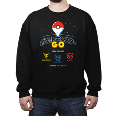 Retro GO - Crew Neck - Crew Neck - RIPT Apparel