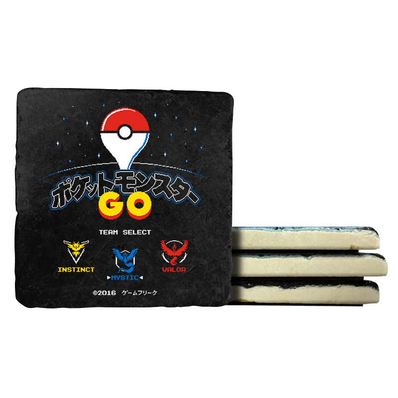 Retro GO - Coasters - Coasters - RIPT Apparel