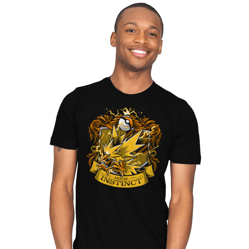 House Instinct - Zapplepuff - Mens - T-Shirts - RIPT Apparel