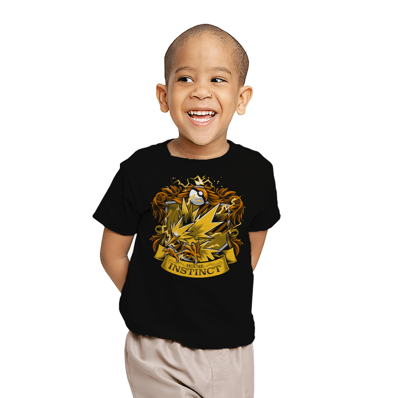 House Instinct - Zapplepuff - Youth - T-Shirts - RIPT Apparel